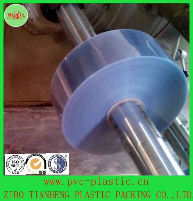 pvc rigid clear plastic sheet for food &pharmaceutical packing