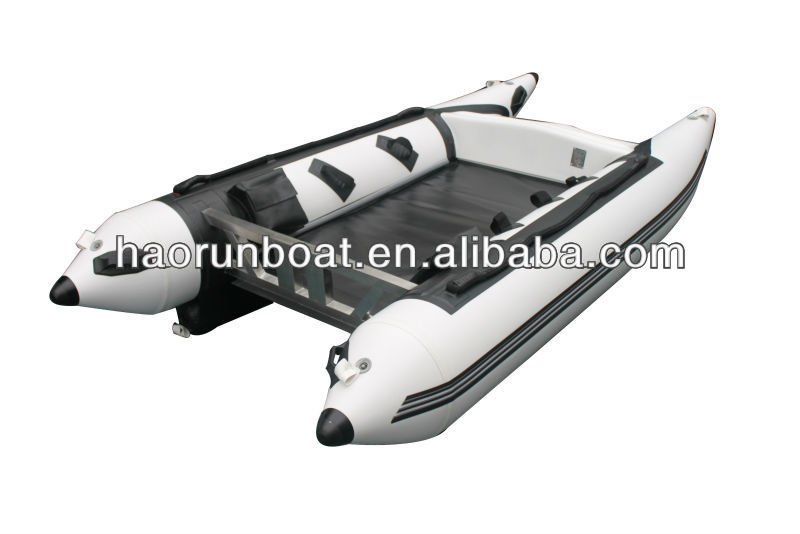 4.5m 2014 Hot hypalon inflatable catamaran BOAT for sale 450