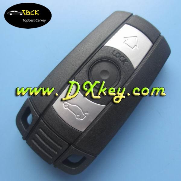 High quality smart car key cover for bmw key BMW 5 series remote key case BMW car remote control case