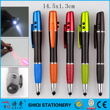 4 in 1 multi-function laser led pen with stylus