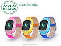HBD Smart watch factory mobile watch phones with gps kids tracker watch calling tracking device