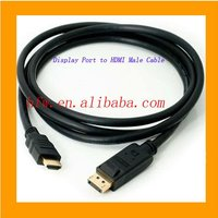 HDMI Male Cable for DisplayPort