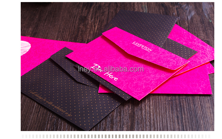 2016 custom logo printing colorful paper envelope