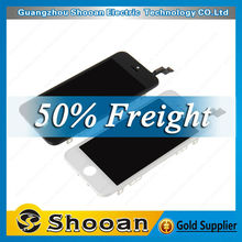 White lcd screen for iphone 5s foxconn lcd