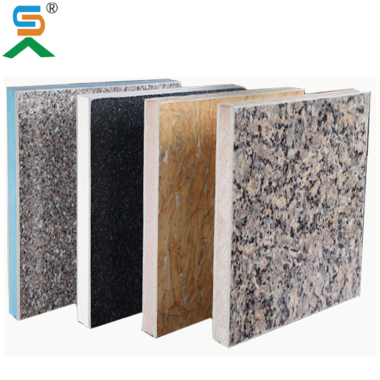 Freezing Resistance External Wall Cladding Composite Panel Factory Price