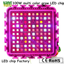 hot sale 100w multi-spectrum 7 bands IDIY grow led chip for brasil cherry tomatoes