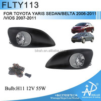 Bikah Fog Light For TOYOTA YARIS SEDAN BELTA 2006 2008 2009 2010 2011 VIOS 2007-2011 Fog Lamp