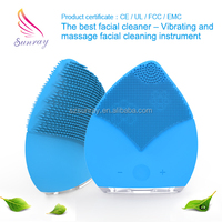 electric facial kits skin face care cleaner vibration massage