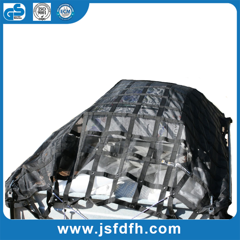 Stretchable Safety Nylon Webbing Cargo Net Shipping Cargo Netting With the Lowest Price