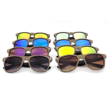 Sales of the new Bamboo wood glasses Real wooden leather sunglasses