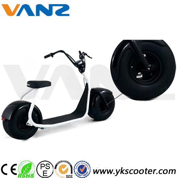 Two big wheels smart balancing electric scooter with seat motor wheel electric vehicle