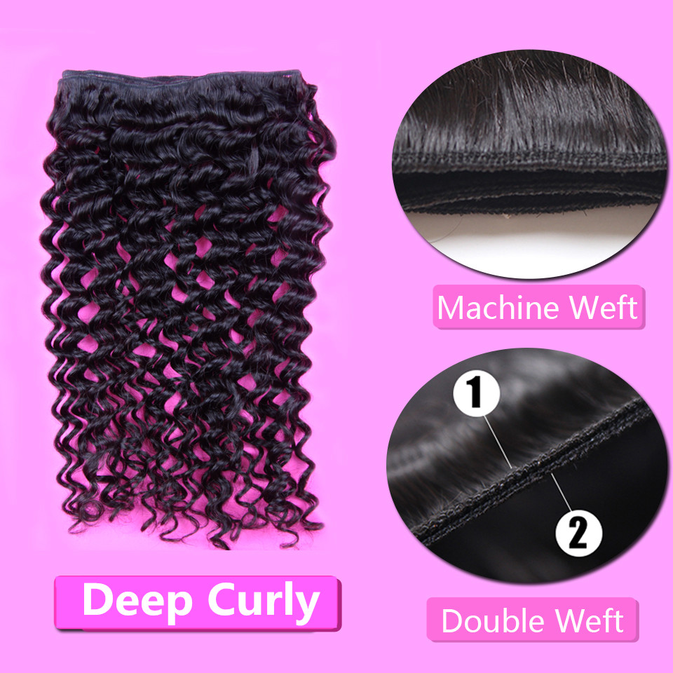 Best quality full ends curly hairstyle natural Indian virgin hair 100 human hair weave brands deep curl bundles for sale