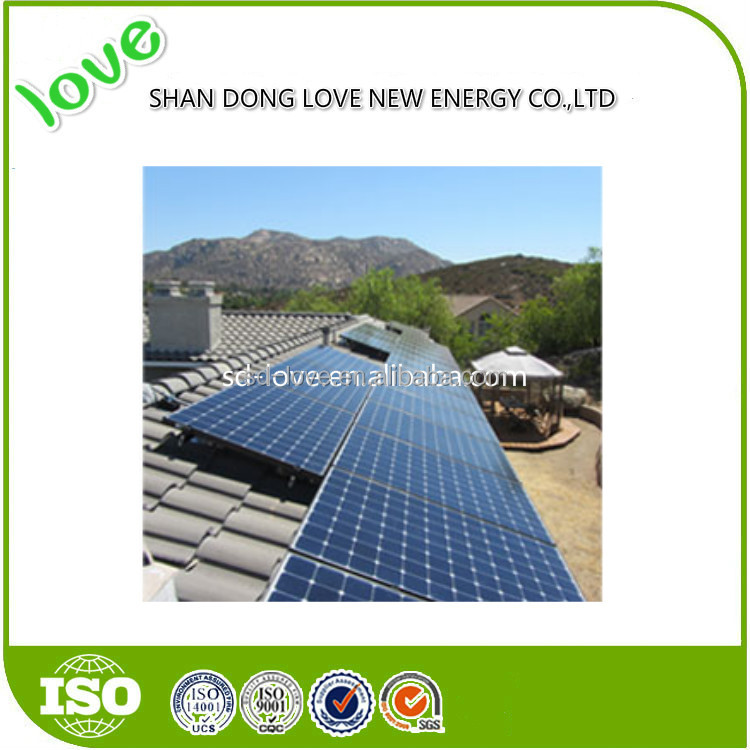 Solar panel factory sales high quality 300 watt solar panesolar panel monocrystalline 300w power with low price