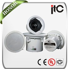 Hot Sale Ceiling Speaker Hifi TCP IP POE Speakers for IP PA System