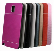 Aluminum Metal Case Hard Cover Case For Samsung Galaxy Note4 Metal+PC Case For Note 4