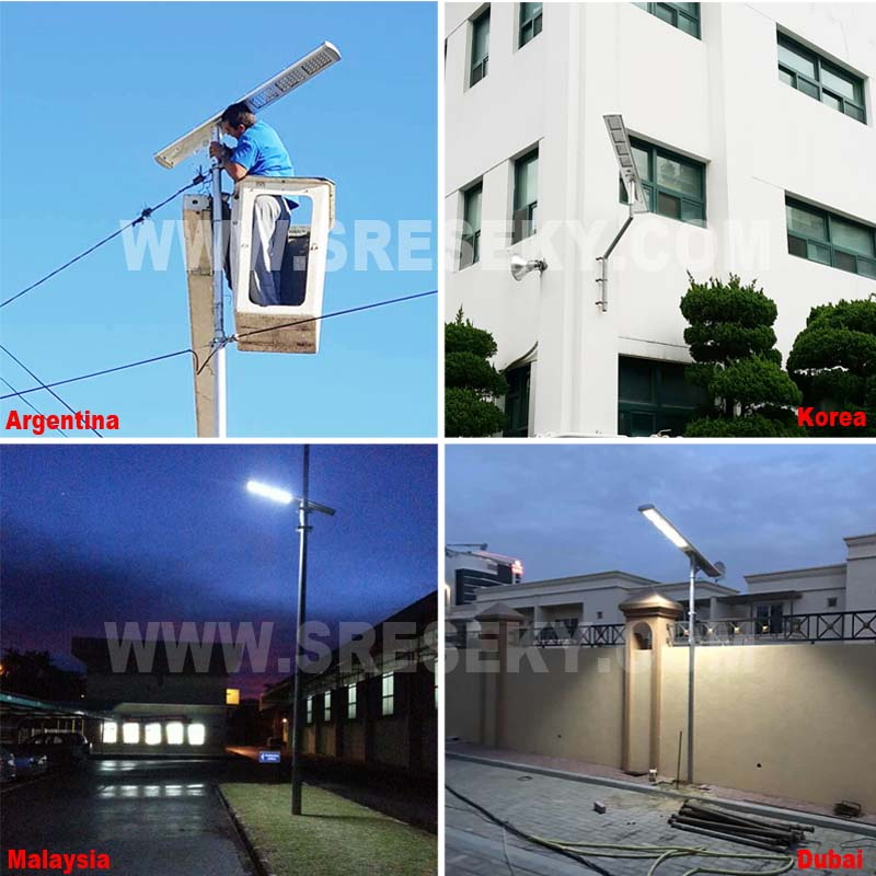 3 Year Warranty Outdoor Waterproof Ip65 All In One Solar Led Street Light