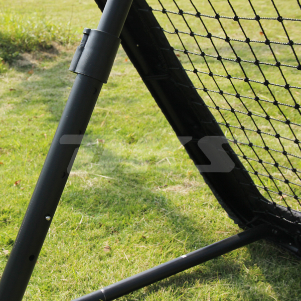Eco-friendly knotted psorts soccer goal netting/mini reounder goal
