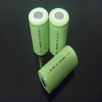 nimh 500mah 1.2v rechargeable battery high capacity