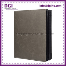 China supplier pu leather book cover with multiple colours