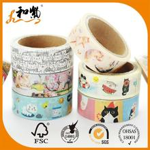 free sample custom sungjin washi paper masking tape