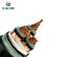 European type MV Power Cable: N2XSEY 3X25mm2, 50mm2, 70mm2, 95mm2, 240mm2.