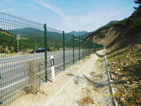 Welded wire mesh fence factory