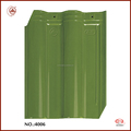 Eco-friendly Green Glazed Corrugated Types of Roofing Sheets Tiles