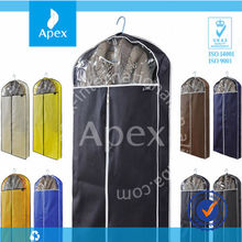 Eco-Friendly Zipper Wholesale Garment Bag