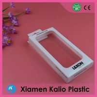 Custom packaging iPhone case pack clear plastic box