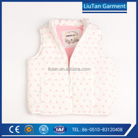 oem pretty soft comfortable baby girl clothes vest