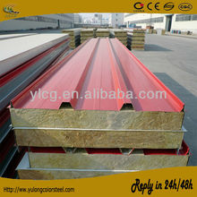 color steel sandwich panel house