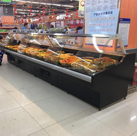 Supermarket Equipment Deli Food Chiller Showcase Refrigerators