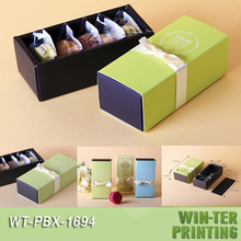 WT-PBX-1694 Sliding biscuit cookie box packaging