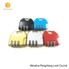 Factory wholesale 4 digits number colorful safe zinc alloy combination bag lock