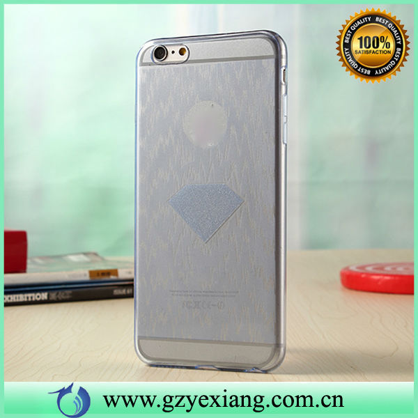 For iPhone 6 3D TPU Case Silicone Case, Diamond Glitter Phone Case For iPhone