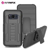 2017 shockproof popular silicon plastic back cover armor hard phone case for galaxy s8 active G892A