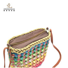 Handbag manufacturer China Corn braid women straw basket bags tote bag Handbags brand designer handbags