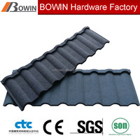 stone coated metal roofing shingle /african metal roof tile /sand coated steel roof sheet