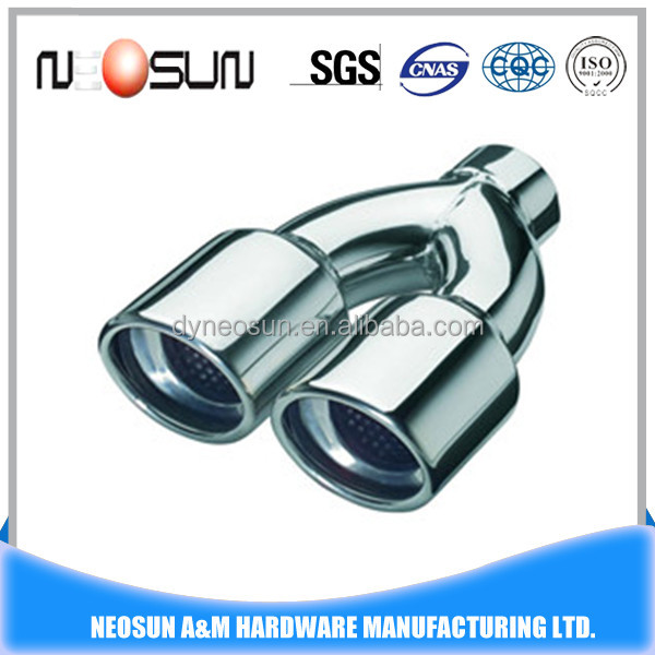 316l stainless steel muffler pipe