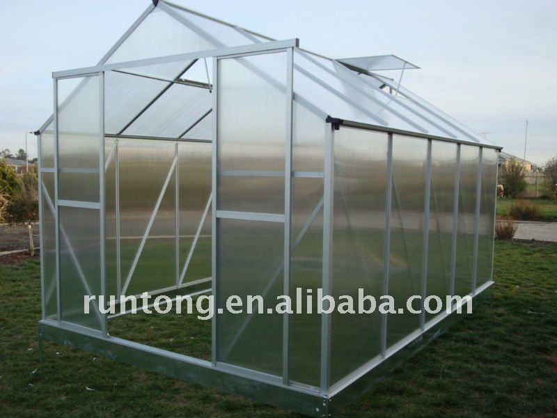 Construcci n de invernaderos rt148 invernaderos de for Invernaderos de jardin