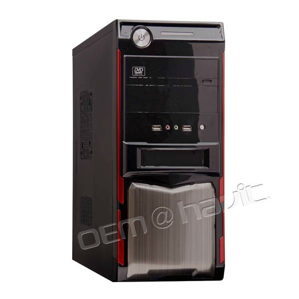 cheap case ATX computer desktop case SGCC with handle