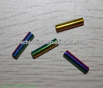 iridescence fly fishing tying brass tube beads