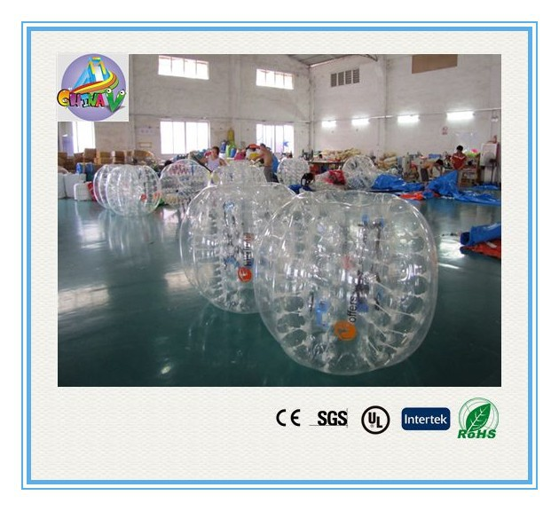 inflatable bumper ball/ body zorbing bubble ball/giant inflatable water bubble ball