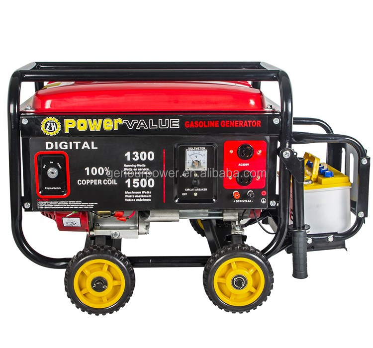 home use 2kw to 6kw powervalue type gasoline generator for sale cheap LC2500