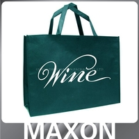 2015 Hot Selling Eco-friendly custom logo print shopping bags / non woven bagChina manufacturer