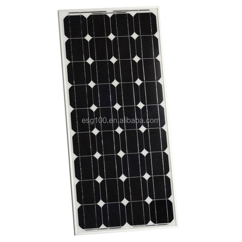 low price 80W Monocrystalline Solar Power Cell with CE TUV IEC CEC ISO
