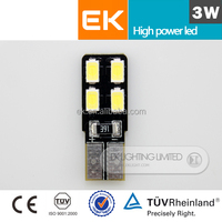 High quality high bright 12v/24v T10/W5W/194 5630 3535 Canbus t10 5smd