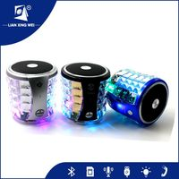 2016 Mini Mobile Phone Amplifier Car Sport Plastic Led Speaker Home Theater Systems Bluetooth Classroom Speaker