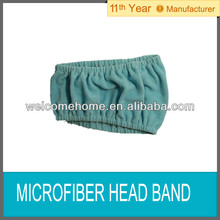 microfiber beauty head band