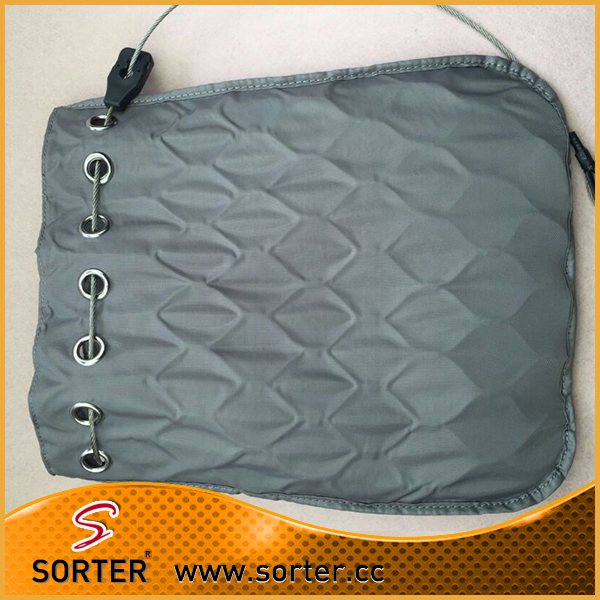 Stainles steel rope cable mesh security bag